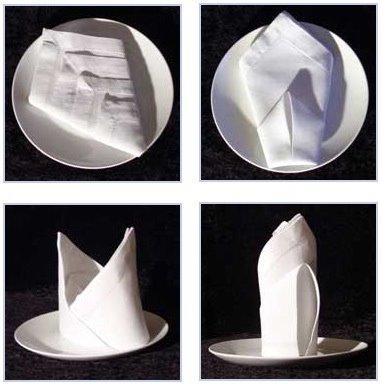 Napkin Folding 101 | The Bar Mitzvah Blog
